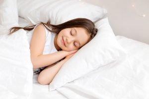 Young girl sleeping - Children's Dental Center of Madison